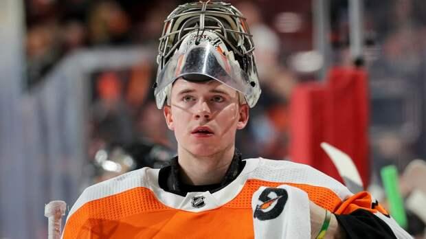 Вратарь «Филадельфии» Харт побил рекорд Варламова, став самым молодым голкипером НХЛ в матчах под открытым небом