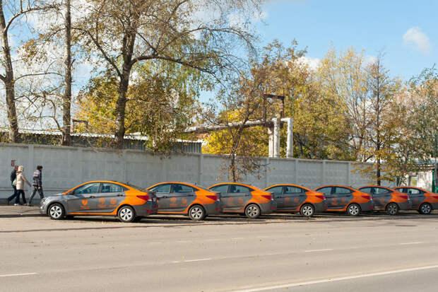 Hyundai Solaris — от 6 рублей/минута авто, аренда, кашеринг, москва