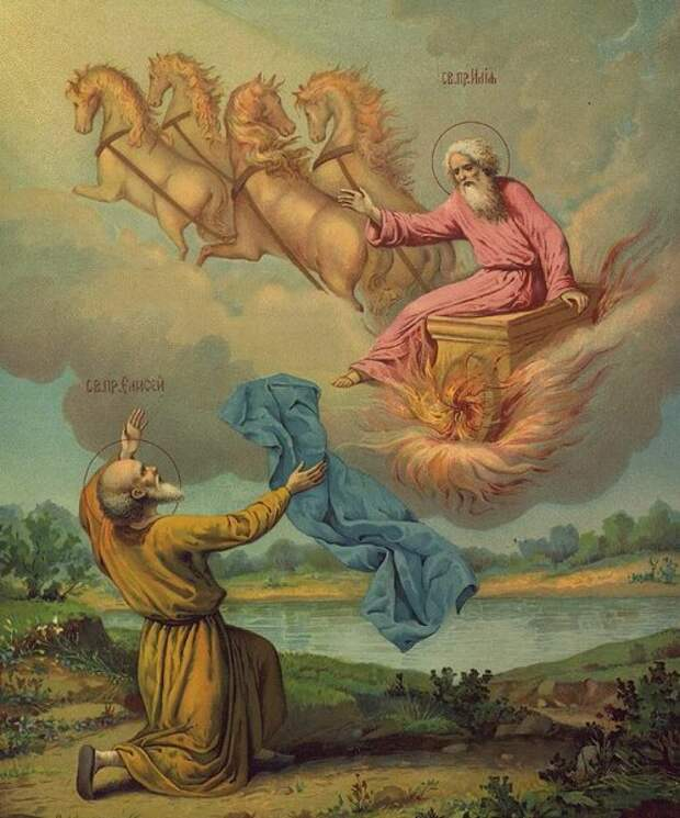 Пророк  Илья  -  покровитель  ВДВ  и  ВКС