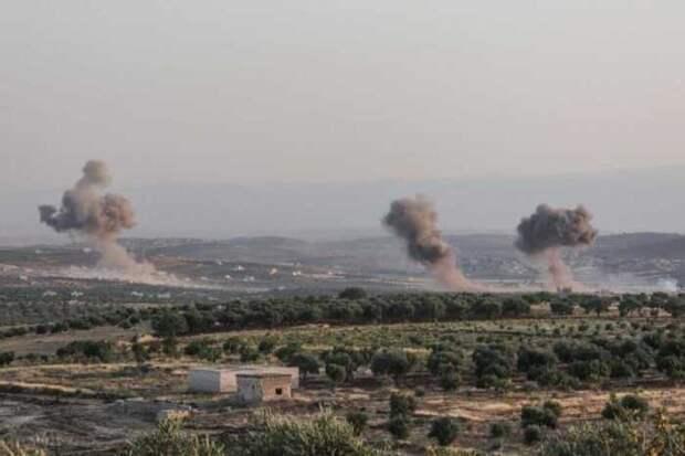 ВКС РФ нанесли не менее 30 мощных ударов по боевикам в центре Сирии