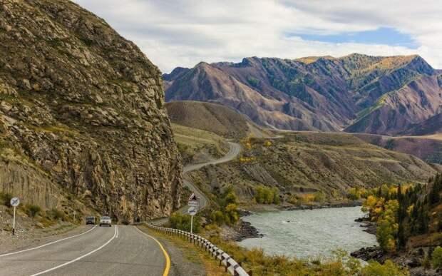 Горный Алтай. Трасса М-52 дороги, россия, факты