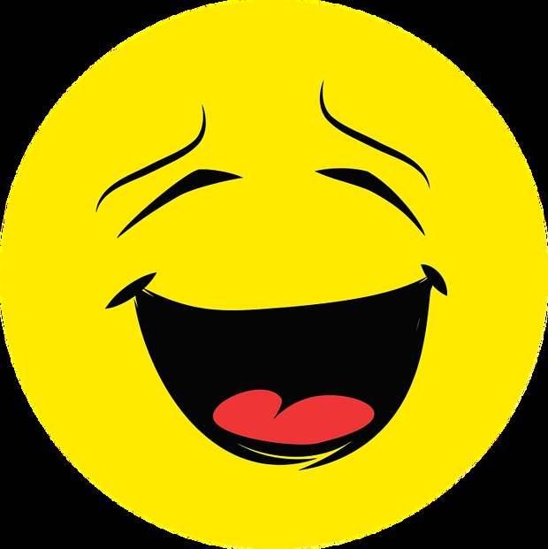 Эмоция, Лицо, Счастливы, Смех, Раунд, Смайлик