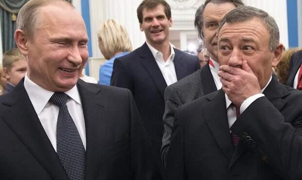 Борцы с коррупцией оценили состояние друзей и родственников Путина в 24 млрд долларов