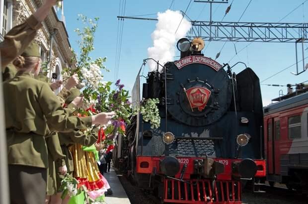 На Кубань прибудет ретро-поезд «Победа»