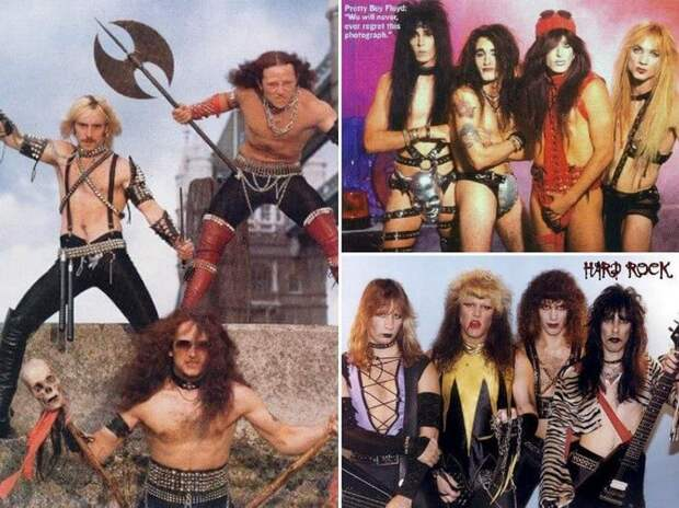 18 фотографий неповторимой моды рок-музыкантов 80-х, которая вызывает множество вопросов