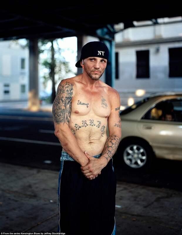 Джеффри Стокбридж несколько лет делал портреты жителей Кенсингтона америка, люди, наркомания, наркоманы, сша, уличные фотографы, фото, фотограф