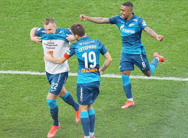 Пятеро игроков «Зенита» вошли в сборную 27-го тура. Трое из них – игроки ротации. Ругали Малкома, а он-то вон каков!