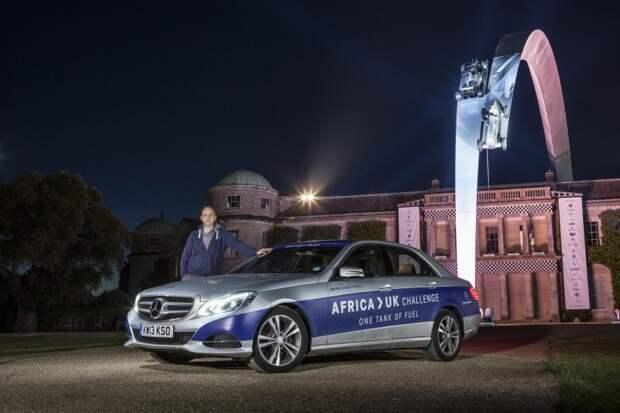 Mercedes-Benz E-класса пересек Европу на одном баке топлива