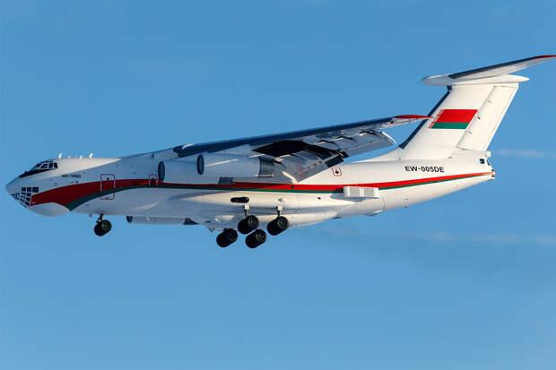 Ил-76МД ВВС Белоруссии слетал в Россию и вернулся в Минск