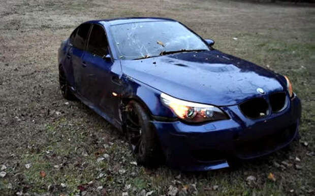 История неудачи любимого BMW: покрасил и разбил