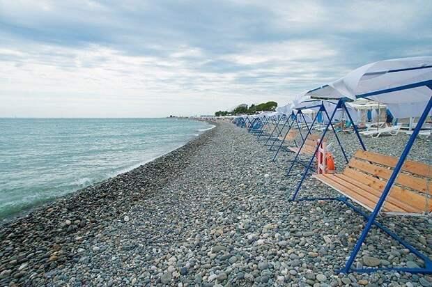 На кубанских курортах создают «зимние пляжи»