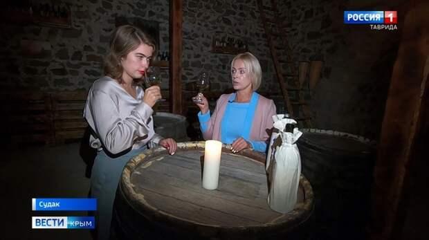 Туристы в Судаке могут почувствовать себя сомелье, продегустировав вино «вслепую»