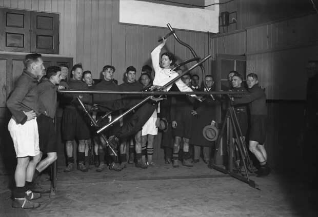 Как выглядел фитнес началаХХ века