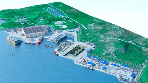 Вгубе Ура НОВАТЭК построит морской перегрузочный комплекс СПГ