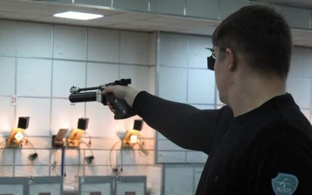 Студент МАИ стал бронзовым призером соревнований по стрельбе из пневмата