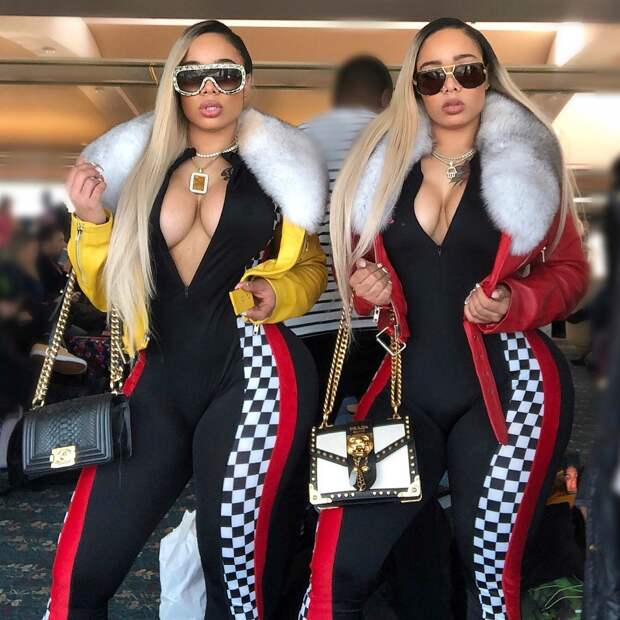 Сестры-близнецы потратили $20000 на пластику и приседают по 2000 раз, чтобы иметь одинаковые задницы