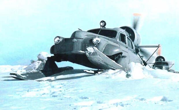 Аэросани «Ка-30» - главные помощники на Крайнем Севере