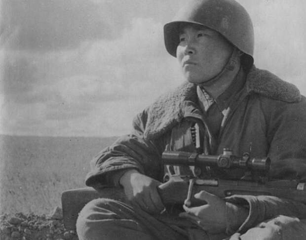 Максим Пассар: как нанаец стал самым результативным снайпером Сталинграда