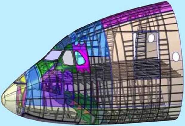 3D-моделирование A350 XWB от Dassault Systèmes