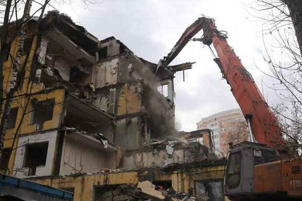 ВРоссии могут разрешить сносить любое жилье для «развития территорий»
