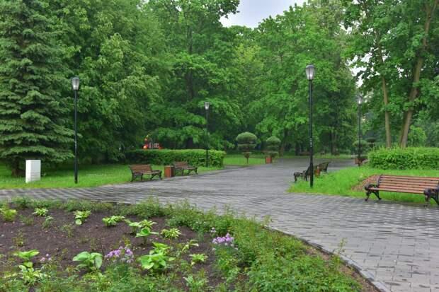 Случайный мусор в парке «Кузьминки-Люблино» убрали по просьбе жителей