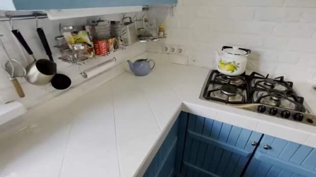 Достойно и на дачу, и в квартиру: кухня за копейки из доступных материалов