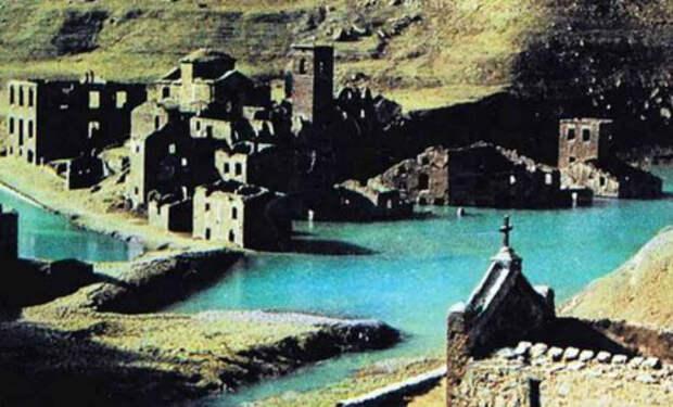 Город был под водой 70 лет