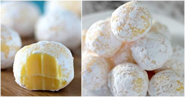Изысканный десерт: лимонные трюфели с белым шоколадом