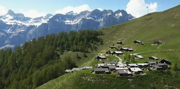 Пакуем чемоданы: швейцарская деревня, за проживание в которой платят $70 000