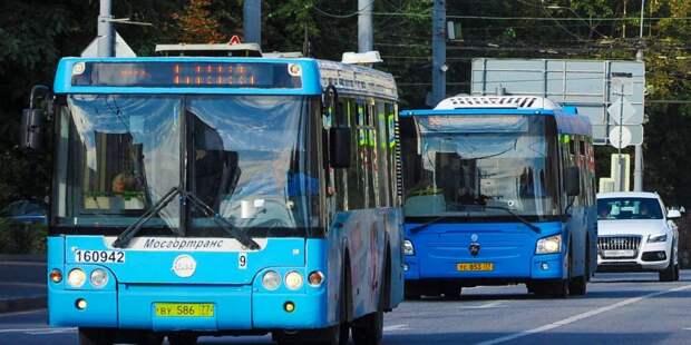 Большие автобусы появятся на двух маршрутах в Левобережном