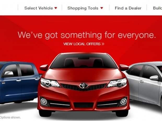 Автомобили Toyota вновь обвиняют в самопроизвольном ускорении