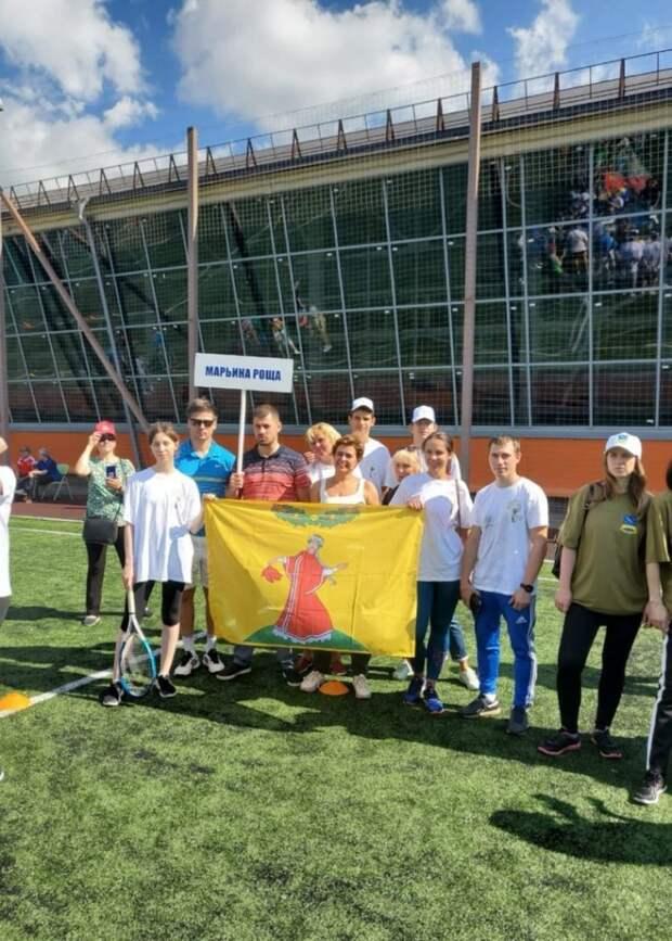 В День физкультурника команда Марьиной рощи победила в соревнованиях по теннису