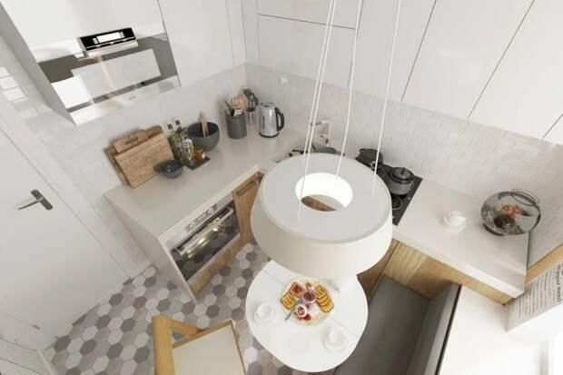 Крошечные кухни, в которых пространство организовано идеально