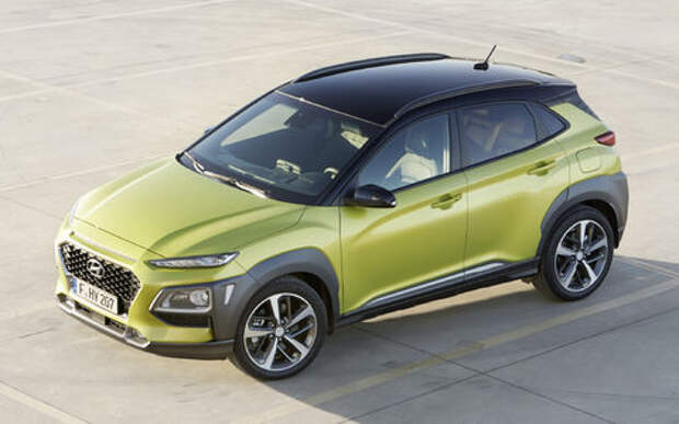 Жаркая, летняя, не для нас: компания Hyundai представила молодежный кроссовер Kona