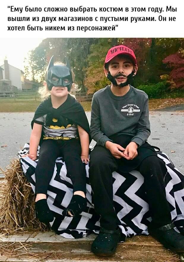 Самые необычные костюмы на Хеллоуин (трафик)