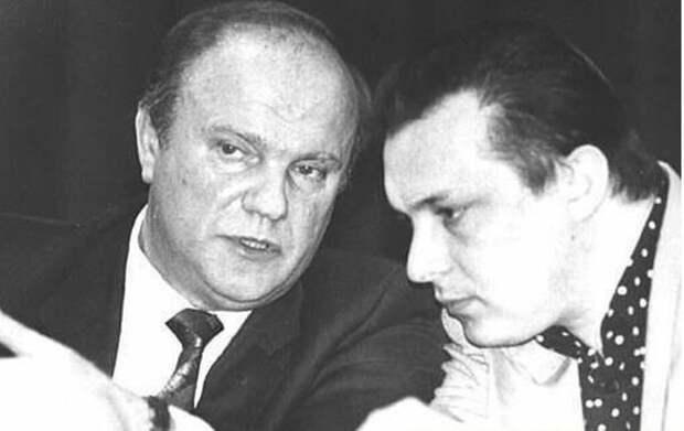 """Геннадий Зюганов и Андрей Разин. Фото: """"Инстаграм"""" Андрея Разина"""