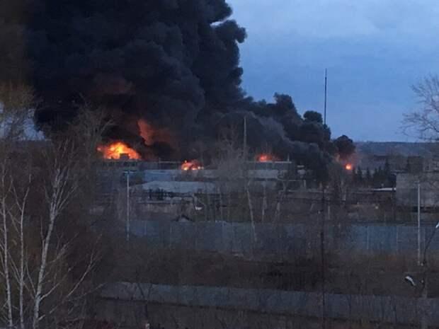 Пожар в Чернобыльской зоне приблизился к хранилищам радиоактивных отходов