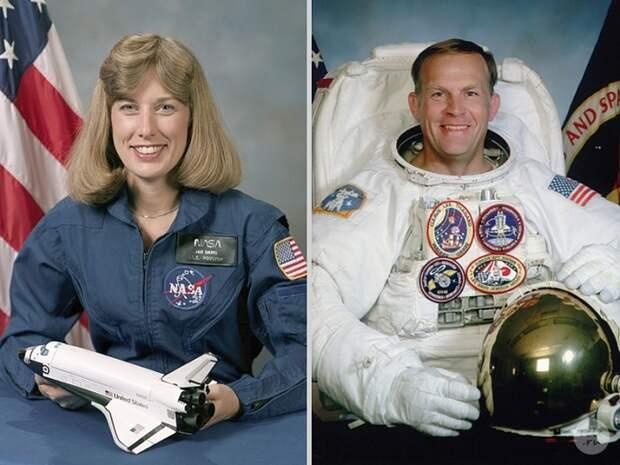 Нэнси Дэвис и Марк Ли.