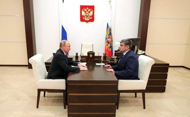 Как Путин уволил трех губернаторов в течение часа