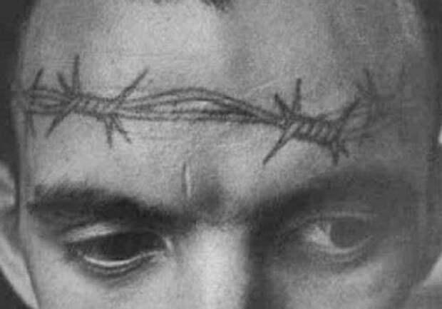 Кому и как делались татуировки на лице в советских тюрьмах