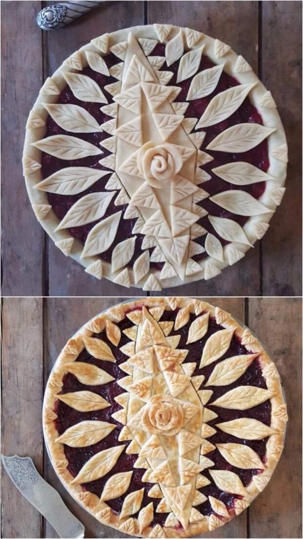Замысловатые пироги до и после выпекания, которые слишком красивы, чтобы их съесть