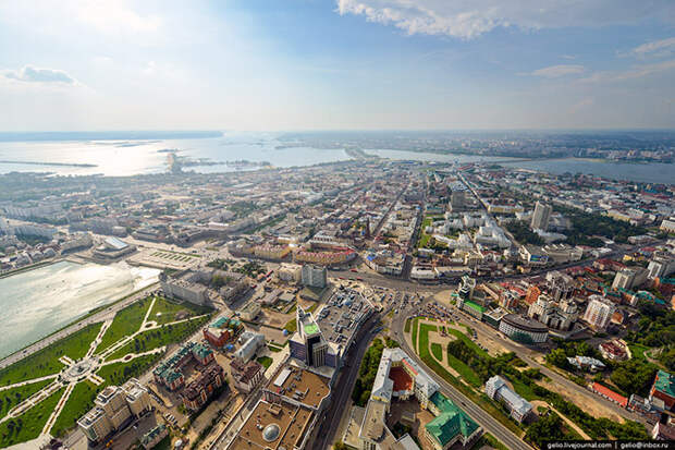 Казань с высоты