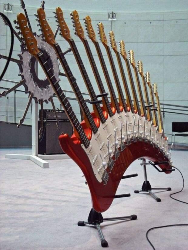 Гитара с несколькими грифами