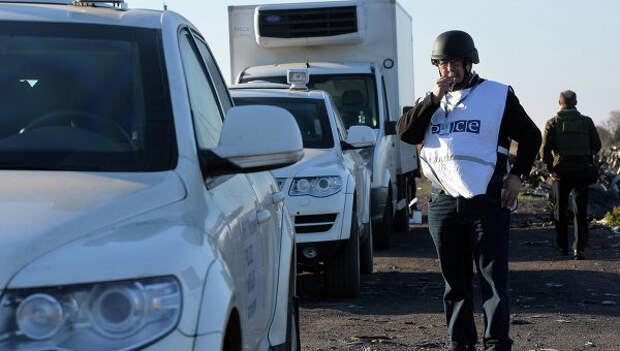 Украинские военные не пропустили наблюдателей ОБСЕ через КПП