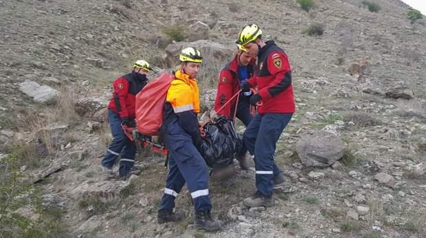 В горах Судака насмерть разбился 16-летний парень
