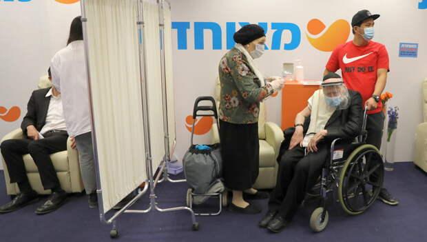 Минздрав Израиля рассказал, сколько привитых людей среди «ковидных» тяжелобольных