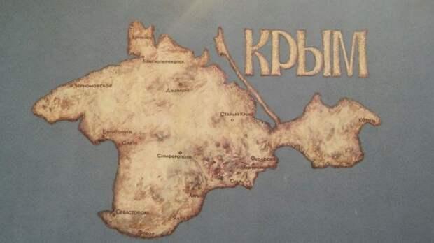 Киев попросил NYT исправить карту страны без Крыма