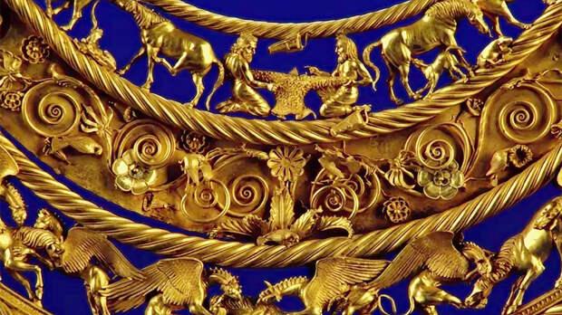 Во Франции раскритиковали решение передать золото скифов из крымских музеев Украине