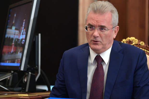 Пензенскому губернатору Белозерцеву предъявили обвинение
