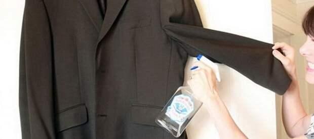 Способы удаления запаха пота с одежды без стирки